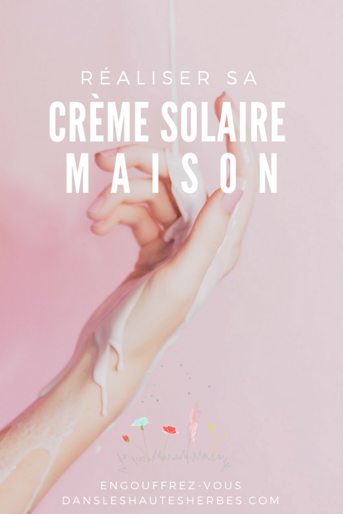 CREME SOLAIRE MAISON