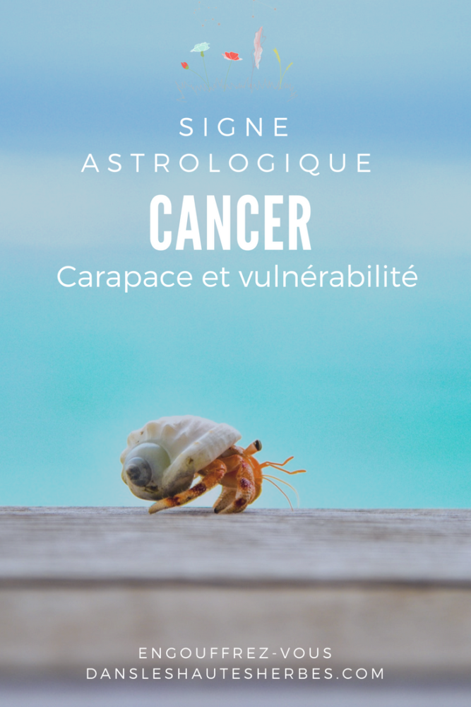 Signe astrologique cancer