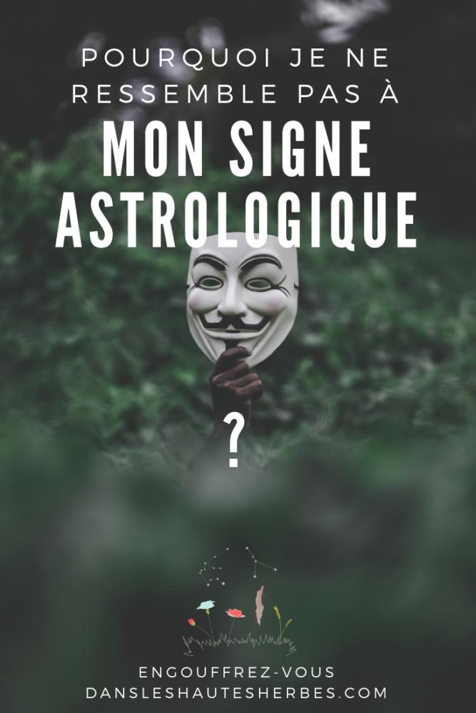 SIGNE ASTROLOGIQUE Thème astral