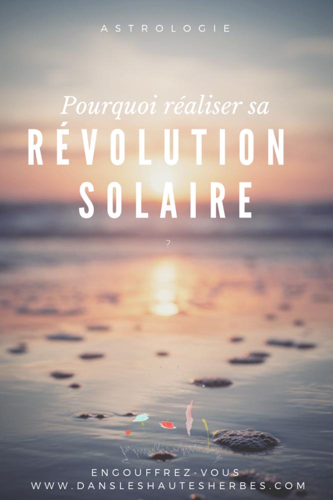 révolution solaire thème de l'année astrologie