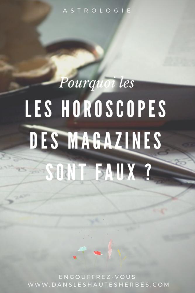 horoscopes des magazines sont faux astrologie