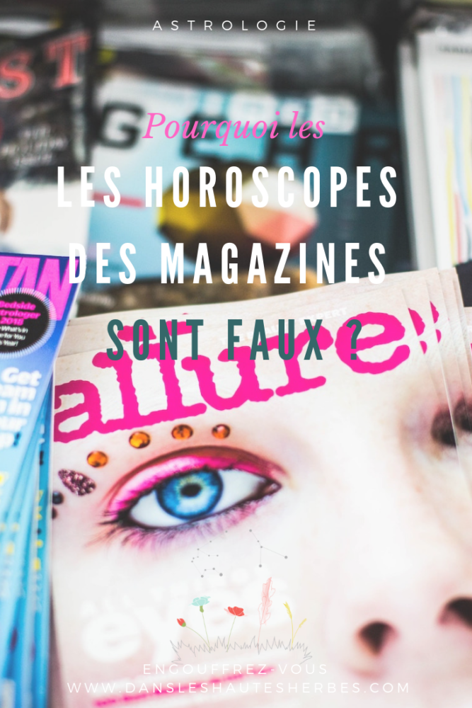 horoscopes des magazines faux astrologie
